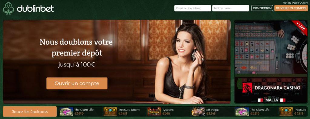 dublinbet casino ACCUEIL